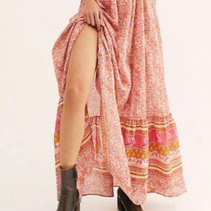 NWT Free People Tangier Babydoll Midi dress
